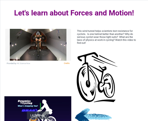 Foces and Motion