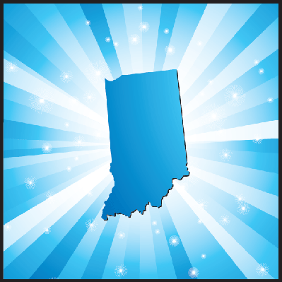 Blue indiana | Clipart