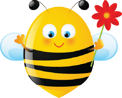 Funny Bee | Clipart