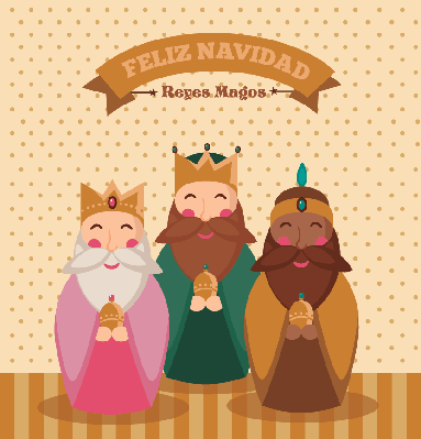 Reyes Magos | Clipart