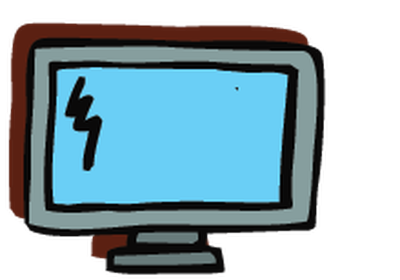 Electronics - Computer Monitor 1 | Clipart