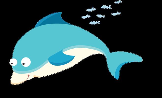 Sea Life - Dolphin | Clipart