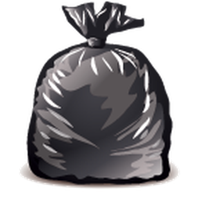 Garbage Icons, Detailed - Garbage Bag | Clipart