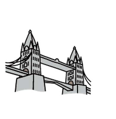 Landmarks - Tower Bridge | Clipart