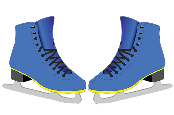 Skates for Figure Skaters | Clipart