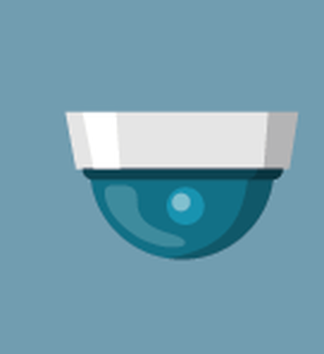 Security Cameras Icons Set | Clipart