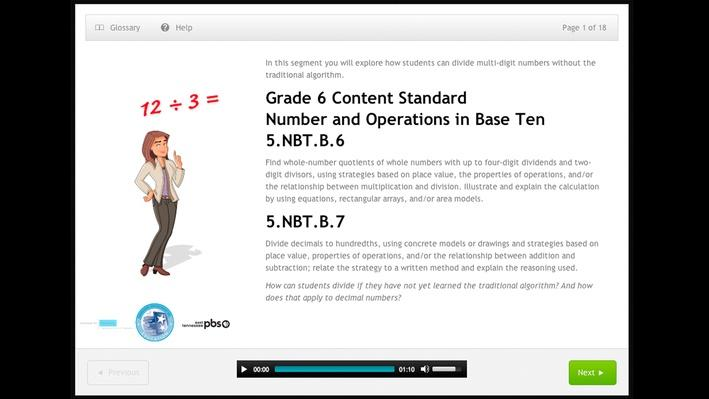 Number and Operations in Base Ten - Grade 5 -5.NBT.B.6