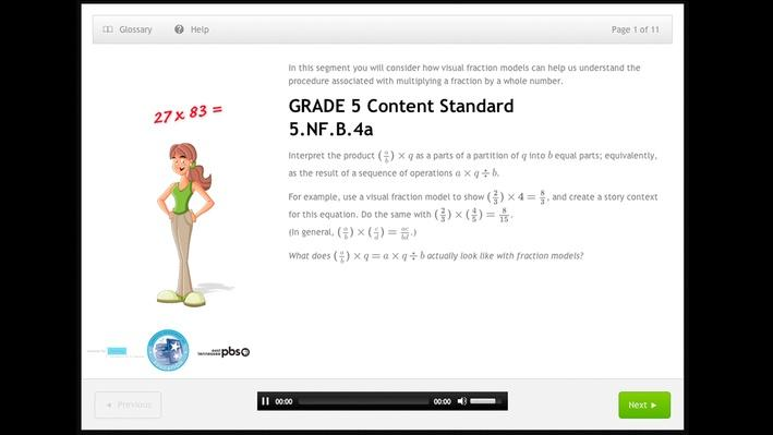 Number and Operations - Fractions - Grade 5 - 5.NF.B.4a
