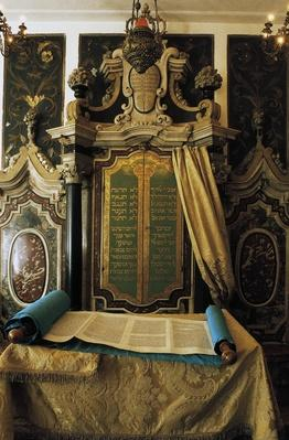 Holy Ark with the scrolls of the law, Scola Fanese (or Fanese oratory) | World Religions: Judaism