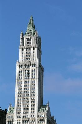 Woolworth Building, 1913, designed by Cass Gilbert | Famous American Architecture