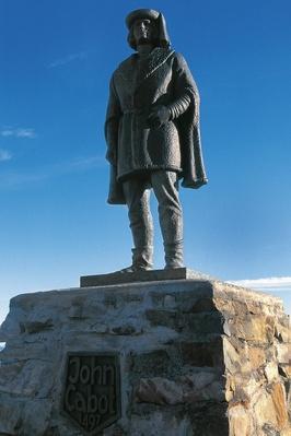 Monument to John Cabot (1450-1498), Cape Bonavista, Newfoundland, Canada | Famous Explorers
