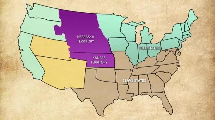 1850-1874 Era | Lesson 1: The Kansas-Nebraska Act | PBS LearningMedia