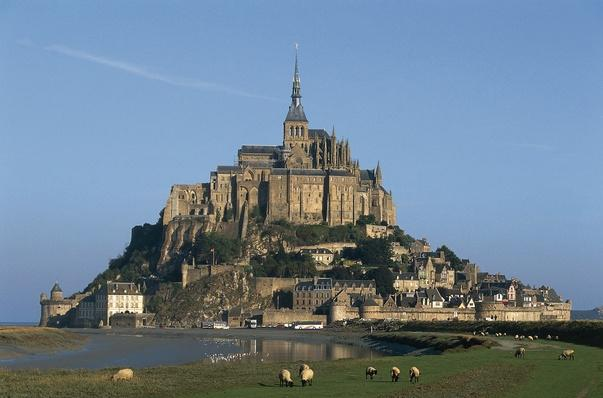 Benedictine Abbey of Mont-Saint-Michel,  Normandy, France | Monuments and Buildings