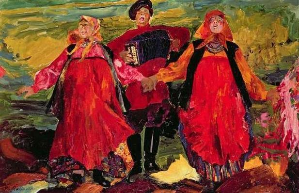 Russian Peasants Singing