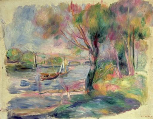 The Seine at Argenteuil, 1892