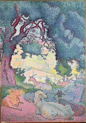 Landscape with Goats, 1895