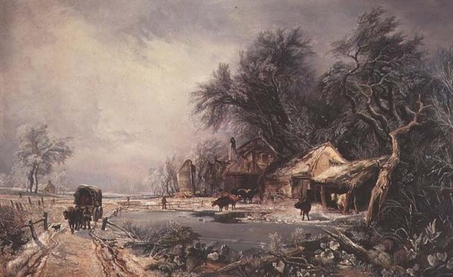Winter Landscape, 1836
