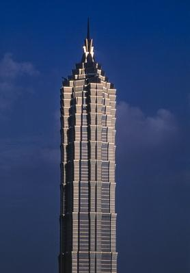 The Jin Mao Tower. Shanghai. China | Monuments and Buildings
