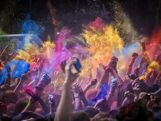 Holi in Barcelona | World Religions: Hinduism