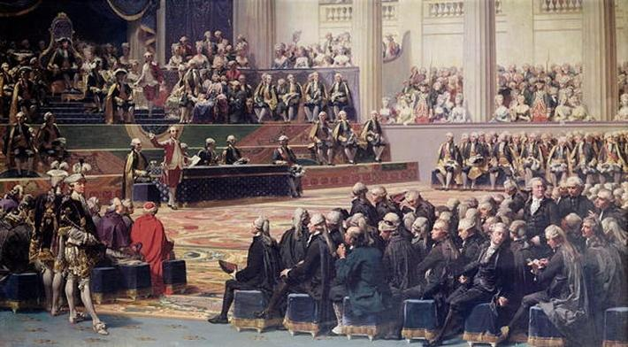 Opening of the Estates General at Versailles on 5th May 1789, 1839