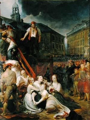 Episode in Place du Bouffay, Nantes, 1793, 1859