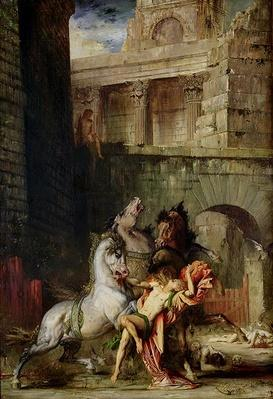Diomedes Being Eaten by his Horses, 1865