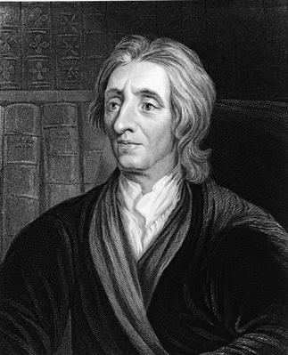 Engraving Of Philosopher John Locke | Famous Philosophers