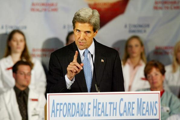 Democratic Presidential Candidate John Kerry Speaks about Health Care | U.S. Presidential Elections: 2004