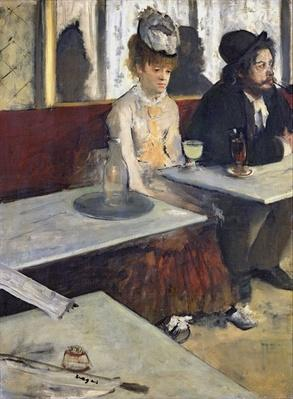 In a Cafe, or The Absinthe, c.1875-76