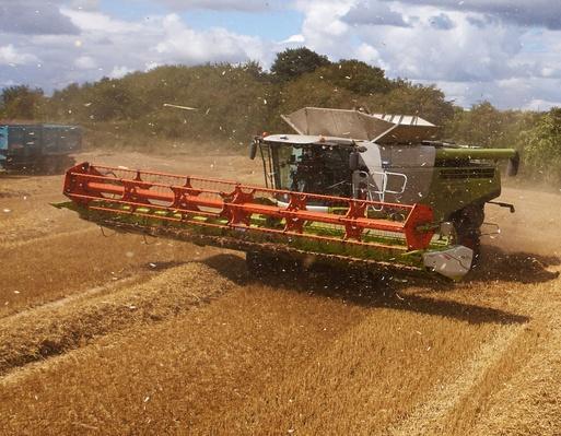 Combine Harvesting Crop | Earth's Resources
