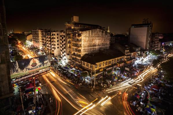 Yangon City During a Blackout | Earth's Resources