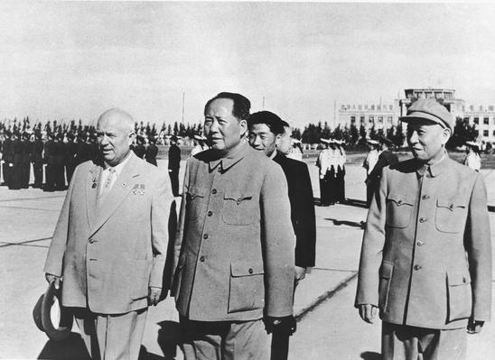 Khrushschev With Mao Zedong In China | The Cold War | The 20th Century Since 1945: Postwar Politics
