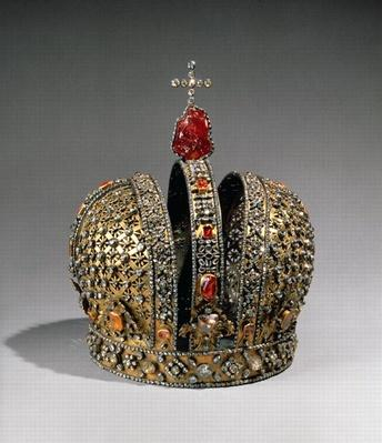 Crown of the Empress Anna Ioannovna, St. Petersburg, 1730