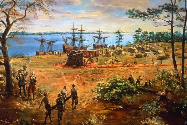 Jamestown Fort | U.S. Immigration | 1840's to present | U.S. History