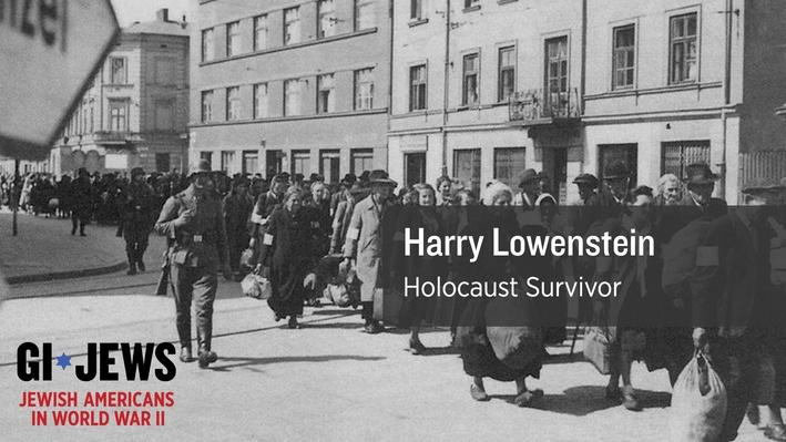 Harry Lowenstein experienced the rise of Adolf Hitler and the brutal treatment of Jews.