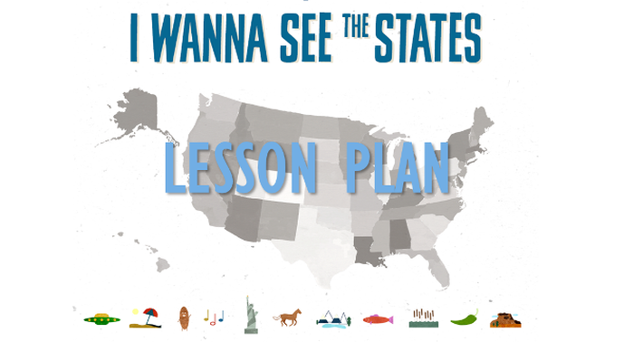 I Wanna See the States Lesson Plan