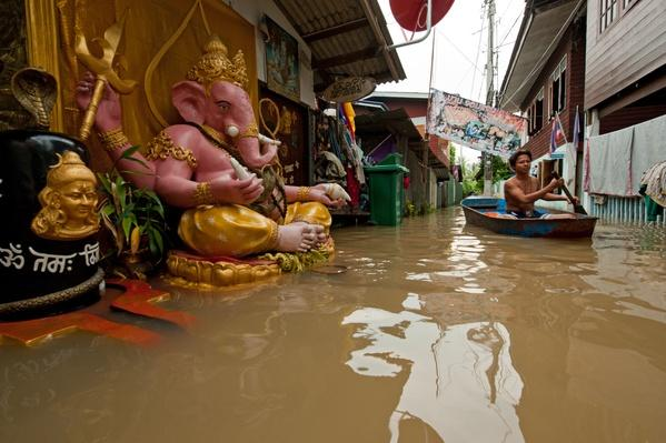 Heavy Flooding From Monsoon Rain at Koh Kred | Earth's Surface