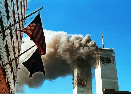 Smoke Pours from The World Trade Center - September 11, 2001 | 9/11: We Will Never Forget