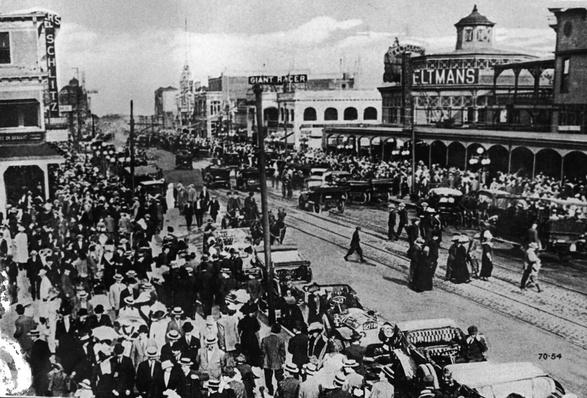 Crowds & Traffic At Old Coney Island | The Gilded Age (1870-1910) | U.S. History