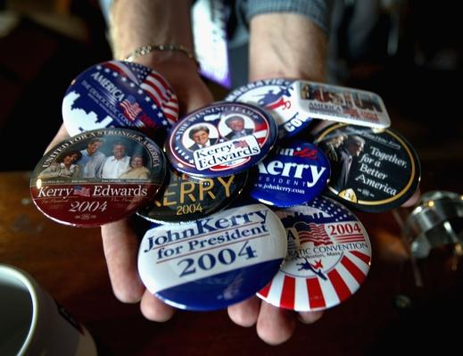Democratic National Convention Continues Into Day Three | U.S. Presidential Elections 2004