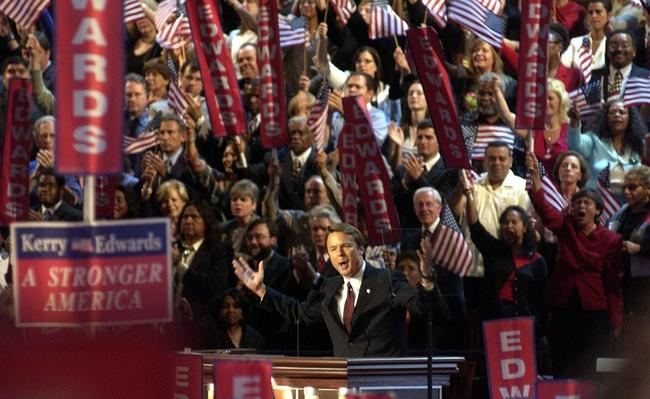 Democratic National Convention Third Day | U.S. Presidential Elections 2004