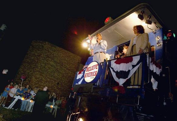MO: Kerry Campaign Continues Midwest Tour | Evolution of the Railroad (Engine)