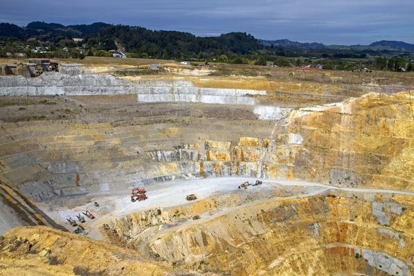 The Open-Pit Martha Gold Mine | Earth's Resources