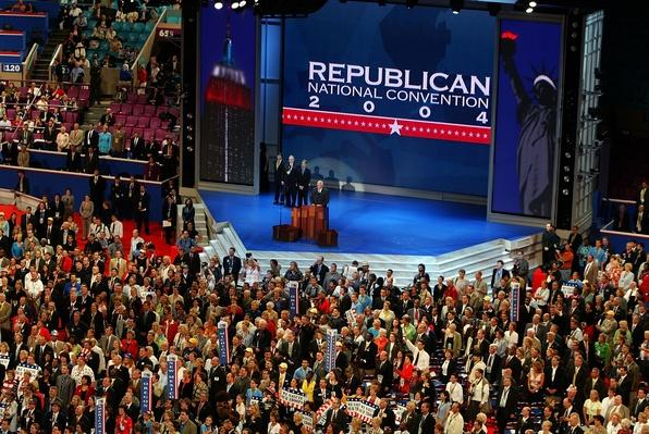 GOP Kicks Off RNC Convention | U.S. Presidential Elections 2004