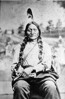 Portrait Of Sioux Chief Sitting Bull | Native American Civilizations | U.S. History