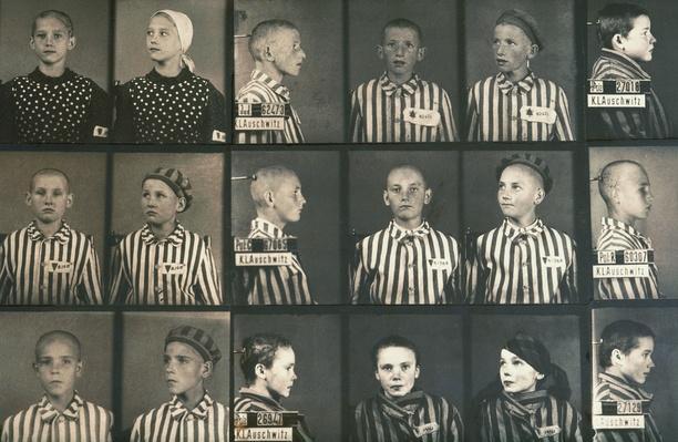 Photos of Jewish children in Auschwitz concentration camp museum | World War II