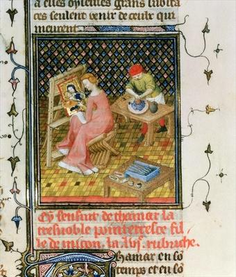 Ms Fr 12420 fol.86r The Story of Thamyris, from `De Claris Mulieribus', from the Works of Giovanni Boccaccio