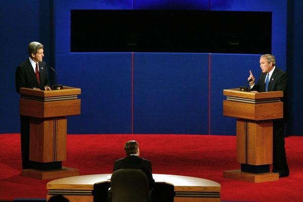 Bush, Kerry Square Off In First Presidential Debate | U.S. Presidential Elections 2004