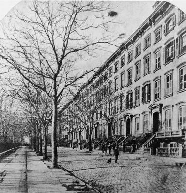 26th Street From Madison Avenue, Manhattan | The Gilded Age (1870-1910) | U.S. History