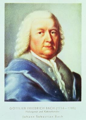 Portrait of Johann Sebastian Bach